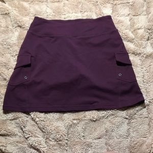 Purple Athleta Skort